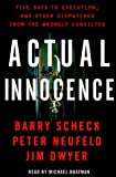 img - for Actual Innocence by Barry Scheck (2000-02-01) book / textbook / text book