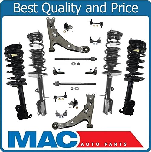 Mac Auto Parts 144358 Front & Rear Strut Shock Coil Spring Assembly + Suspension Kit New Corolla (Coil Shock Toyota Corolla 2000 compare prices)