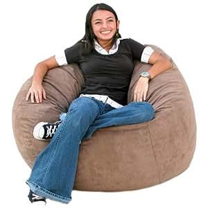 Amazon.com: Cozy Sack 3-Feet Bean Bag Chair, Medium, Earth: Kitchen