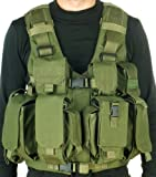 TV 7711 - Tactical Combatant Vest By MAROM DOLPHIN Designed for Carrying Heavy Loads and for Quick Draw of All Equipment Used By the IDF