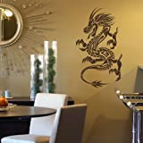 Dragon Big Chinese Wall Sticker / Interior Vinyl Decal / Chinese Transfer CH5