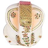 Alka Creations Marble Ganesh Murti - (6.25 Cm * 6.25 Cm) GAPS26