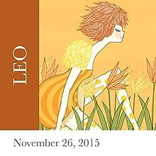 Leo: November 26, 2015  by Tali Edut, Ophira Edut Narrated by Lesa Wilson