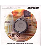 Microsoft Office Basique Edition 2003 w/SP2 - Licence et support - 1 PC - OEM - CD - Win - français (pack de 3)
