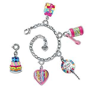CHARM IT! Happy Birthday Charm Bracelet & 5 Charm Set in Jewelry Box
