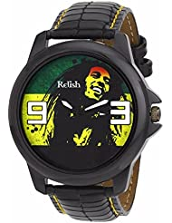 Relish Black Collection Analog Watches For Men - RELISH-510