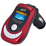 August CR150 Remote Controlled Car MP3 Player and FM Transmitter with SD/MMC Card Reader &amp; USB Port in car technology 