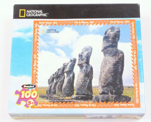 National Geographic 100 Piece Puzzle Easter Island, Chile