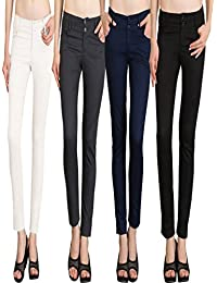 NGT Womens Formal White, Grey, Navy Blue And Black Trouser In Special Quality.