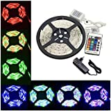 Home Delight 5 Meter Multicolor Waterproof Remote Controlled LED Strip Light Decorative Party Light