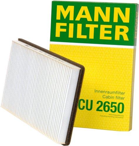 Mann-Filter CU 2650 Cabin Filter for select  Volvo models
