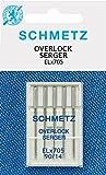 Schmetz Sewing Machine Needles for Overlocks ELX705 5xStrength 90