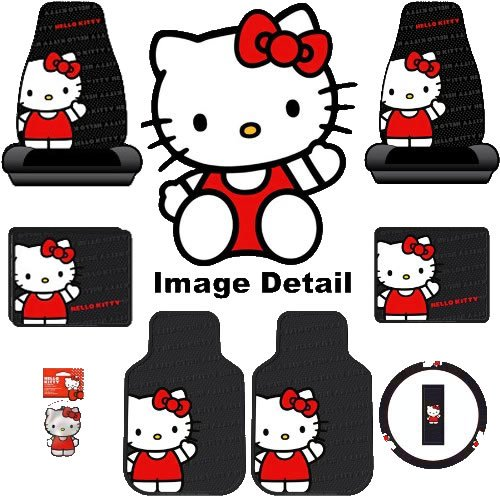 Hello Kitty Sanrio Waving Auto Car Truck SUV