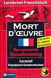 Mort d'?uvre: Lernkrimi Französisch B1 title=