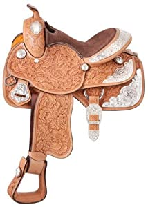Silver Royal Silver Royal Youth Grandview Show Saddle, Ultra Light, 12 in.
