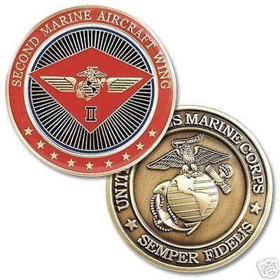 2nd Marine Aircraft Wing Commemorative Coin