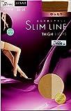 (アツギ スリムライン)ATSUGI SLIM LINE 太もも 丈 ストッキング(ニーハイ丈 ガーターストッキング) 22-25cm コスモブラウン