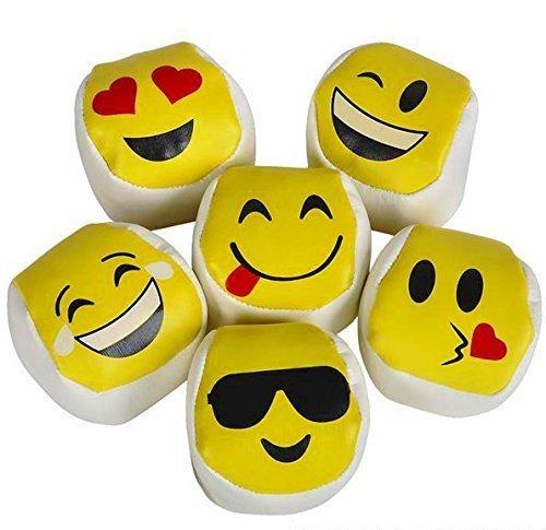 emoji-kickball-hacky-sack-hackey-party-balls-lot-of-12-by-rin