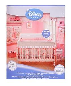 Disney princess happily ever after 4 piece crib bedding set baby