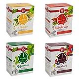 Teekanne-easy-Tea-4-er-Set-6Kruter-Waldbeere-Indischer-Chai-und-Pfefferminze-Kompatible-Tee-Kapseln-fr-Nespresso-Maschinen-40-Stck