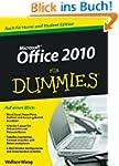 Office 2010 f�r Dummies (Fur Dummies)