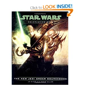 The New Jedi Order Sourcebook (Star Wars Roleplaying Game) by J.D. Wiker and Steve Miller
