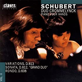 Franz Schubert/ Works For Piano 4 Hands Vol. II
