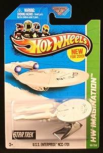 2013 Hot Wheels Hw Imagination - Star Trek - USS Enterprise NCC-1701