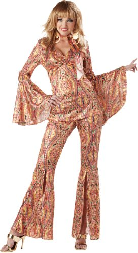 California Costumes Women's Discolicious,Multi,X-Large Costume