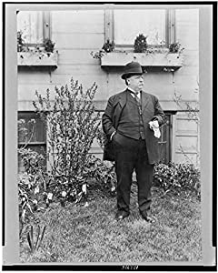 Amazon.com: Photo: William Howard Taft, on lawn, President of United