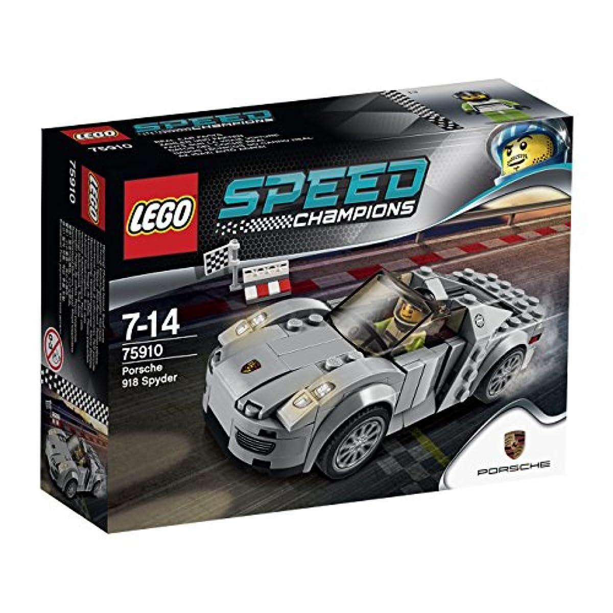 [해외] 레고 (LEGO) 스피드 챔피언 포르쉐 918 스파이더 75910-75910 (2015-03-06)