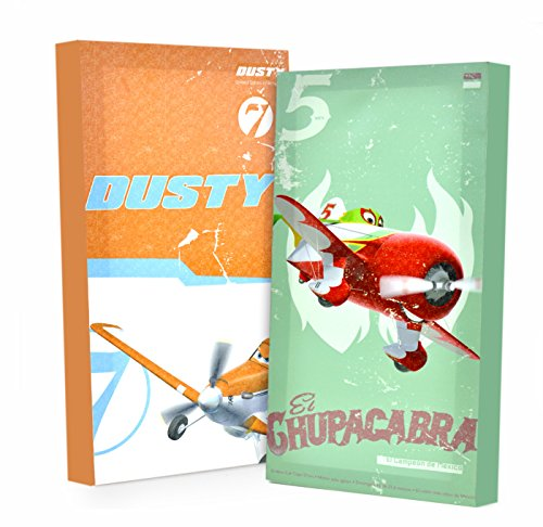 Disney Planes Glow in The Dark Wall Art (2-Pack)