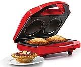 Holstein Housewares HF-09016R Fun Mini Pie Maker - Red