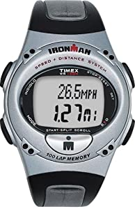 Buy Timex Ironman T5E701 Mens 100-Lap Speed + Distance Watch by Timex