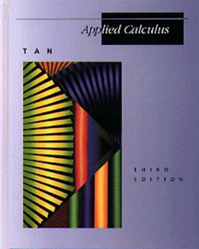 Applied Calculus (Mathematics)