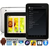 EastVita TouchTab 10.1 in Quad Core 16GB 4.4.2 KitKat Google Android Tablet PC, Wifi, HDMI, Bluetooth [2014] (White 10.1-inch)