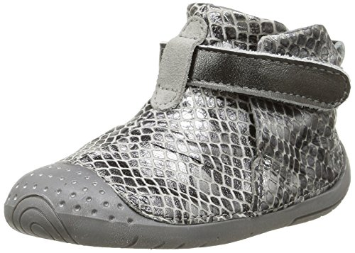 Babybotte - Zak1, Baby Shoes per bimbi, grigio (004 gris python), 16