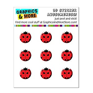 Amazon.com: Lady Bug - Insect Ladybug Home Button Stickers Fit Apple