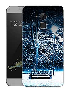 """Humor Gang Winter Night Snowing Printed Designer Mobile Back Cover For """"Coolpad Note 3"""" (3D, Matte Finish, Premium Quality, Protective Snap On Slim Hard Phone Case, Multi Color)"""