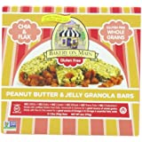 Bakery On Main Soft & Chewy Gluten Free Granola Bar, Peanut Butter & Jelly, 5 Count (Pack Of 3)