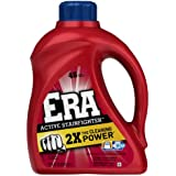 Era 2x Ultra Active Stainfighter Formula Regular Liquid Detergent 48 Loads 75 Fl Oz (Pack of 4)