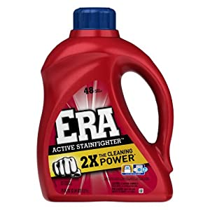 Era 2x Ultra Active Stainfighter Formula Regular Liquid Detergent 48 Loads