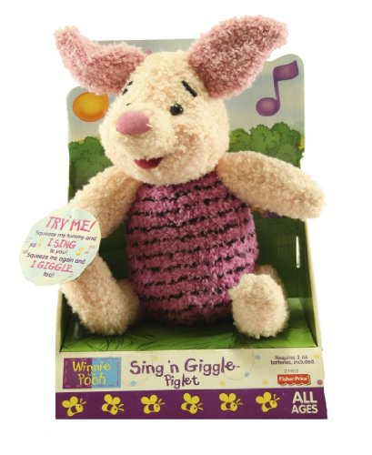 Fisher-Price Pooh Sing 'N Giggle Piglet - 1