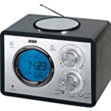 AEG MR 4104 Radio portable FM/AM/mp3 Horloge LCD