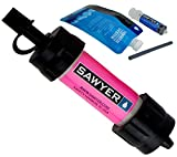 Sawyer Products Mini Water Filtration System, Single, Pink