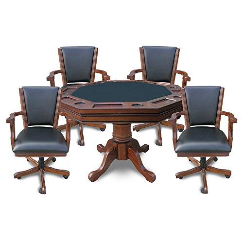 Poker dining table set