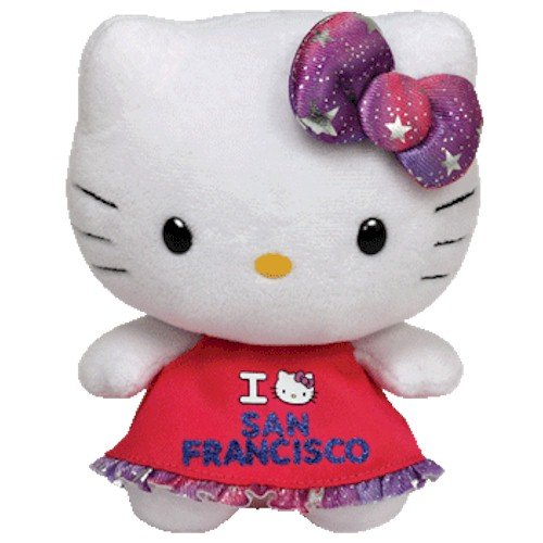 Ty Beanie Babies Hello Kitty Plush, San Francisco
