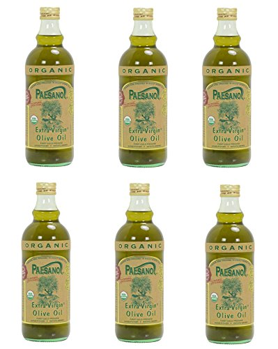 Paesano Usda Organic Sicilian Extra Virgin Olive Oil - 6 Bottles 34oz. Each (Asaro Olive Oil compare prices)