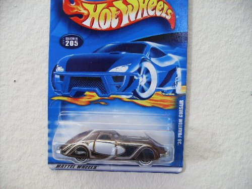 Hot Wheels '38 Phantom Corsair 2001 #205 [Toy]