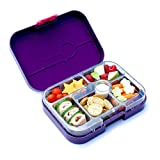 Yumbox Leakproof Bento Lunch Box Container (New Design Figue Purple) for Kids